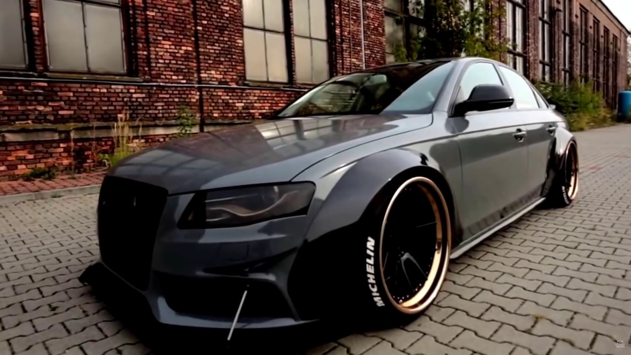 Audi A4 V8 DTM Carbon Widebody 00002