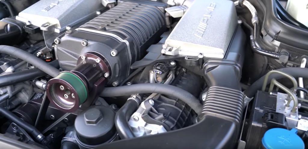 Agro AMG Weistec Mercedes C63 W204 - 8